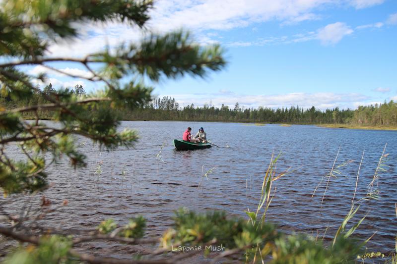 lac en été laponie suédoise