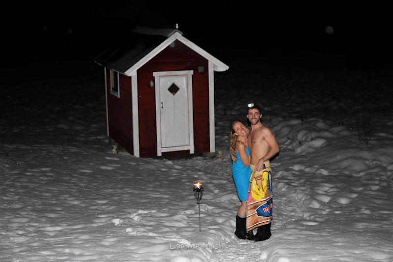 petit sauna bien mérité