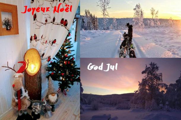Joyeux Noël en Laponie Suédoise