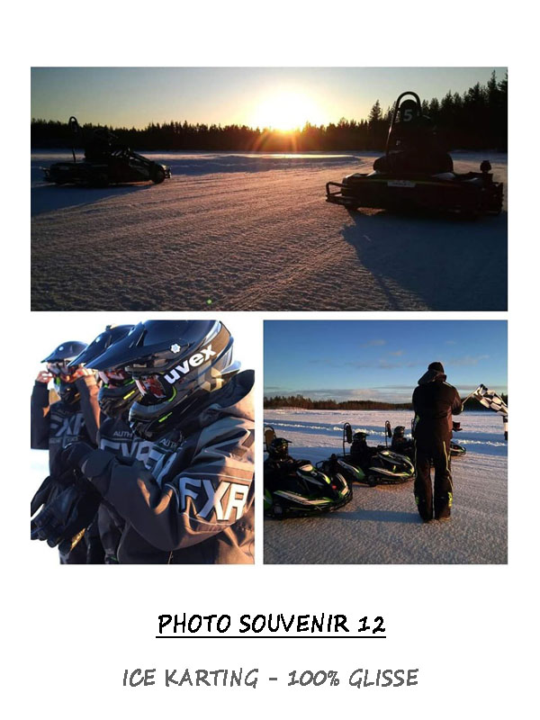 Session Ice karting sur lac gelé - 100% glisse