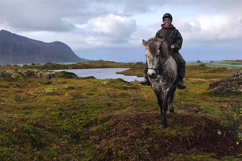 randonnee equestre en laponie